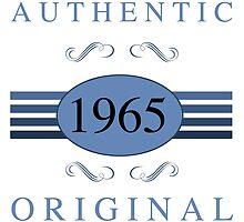 1965 Authentic Original by thepixelgarden