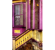 Purple and Yellow Photographic Print
