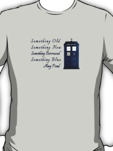 Doctor Who - Amy's Wedding Something Blue T-Shirt