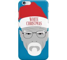 White Christmas iPhone Case/Skin