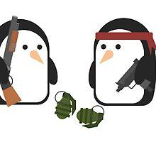Penguin Mercenaries by Disparity