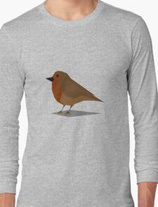 Little Robin Long Sleeve T-Shirt