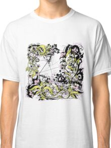 grunge leaves Classic T-Shirt