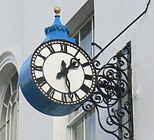 A Public Clock On York's De Grey Rooms. by AARDVARK