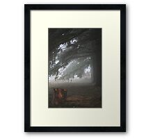 REDREAMING UNDER THE PINES Framed Print
