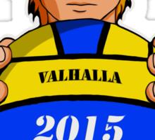 Valhalla Water Polo (Copper Red Hair) Sticker