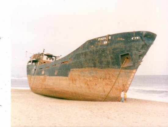 Shipwreck circa 1980s by sword