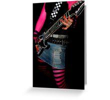 I Wanna Rock! Greeting Card