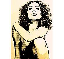 sexy lady Photographic Print