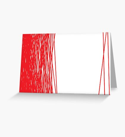 Us and Them Greeting Card