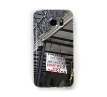 Not Haunted? Not Interested! Samsung Galaxy Case/Skin