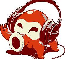 Octorok by Johnny Headphones