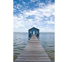 """Crawley Edge"" Boatshed, Perth, Western Australia Photographic Print"