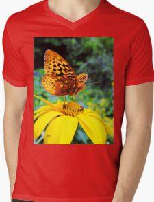 only a hundred more flowers to go Mens V-Neck T-Shirt