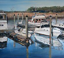 Smithfield Reflections II by Jennifer Lycke