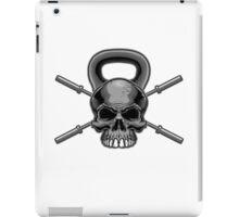 Kettlebell Crossed Barbells iPad Case/Skin