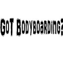 Body Boarding by greatshirts