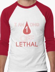 Forsen - 1 DMG off Lethal Men's Baseball ¾ T-Shirt
