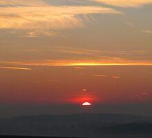 Sun rising by JUDI2008