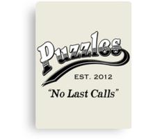 Puzzles Bar Canvas Print