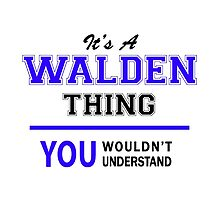 It's a WALDEN thing, you wouldn't understand !! by allnames