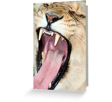 Too Close for Comfort Greeting Card