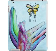 American Sign Language BUTTERFLY iPad Case/Skin