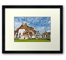 Buddhist Temple Framed Print