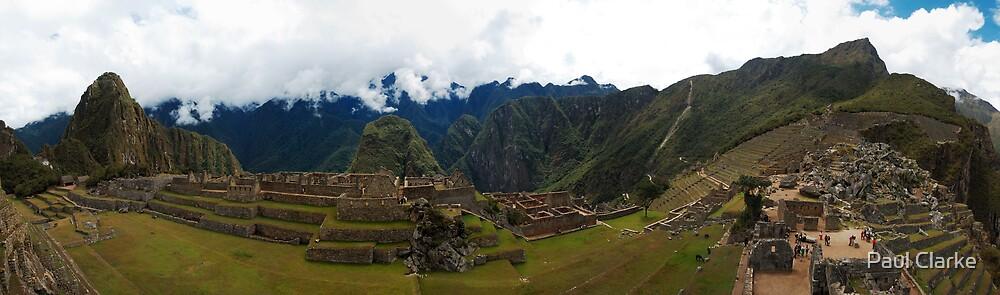 Machu Picchu by Paul Clarke