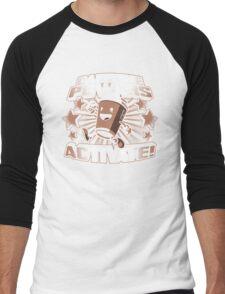 Caffeine Powers... Activate! Men's Baseball ¾ T-Shirt