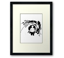 The Names Holmes... Framed Print