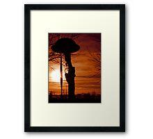 Dunkirk Veterans Sunset Framed Print