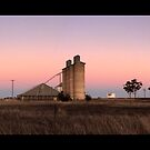 silos at dooen by Andrew Cowell