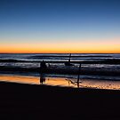 Dicky Beach sunrise by Brent Randall