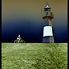 riding on the edge of the world. by ragman