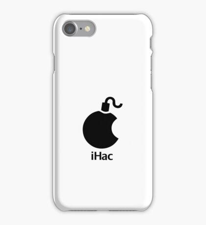 iHac(k) - Black Artwork iPhone Case/Skin