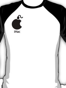 iHac(k) - Black Artwork T-Shirt