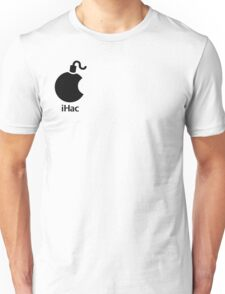 iHac(k) - Black Artwork Unisex T-Shirt
