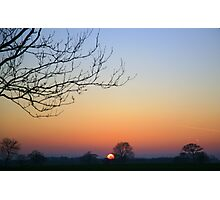 Sundown Photographic Print