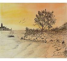An Evening Sail Photographic Print