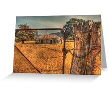 Golden relics of the past .. HDR Greeting Card
