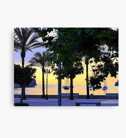 Remembering Summer Evenings In Majorca Canvas Print