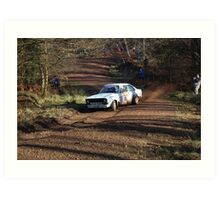 mk 2 ford escort rally car Art Print