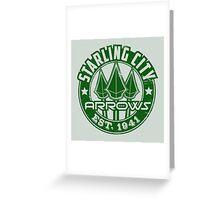 Starling City Arrows V01 Greeting Card