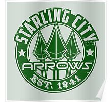 Starling City Arrows V01 Poster