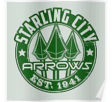 Starling City Arrows V01 Poster