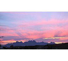 New Mexico Sunrise Photographic Print