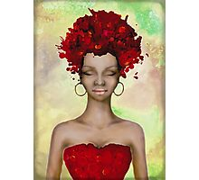 Crazy Red Hair morning Photographic Print