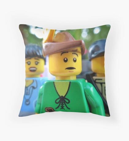 Wait a second... Throw Pillow