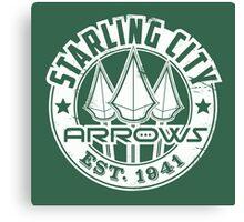Starling City Arrows Version V02 Canvas Print